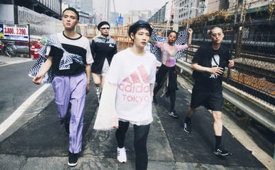 Collection designed by adidas and Japan artist Hiroko Takahashi