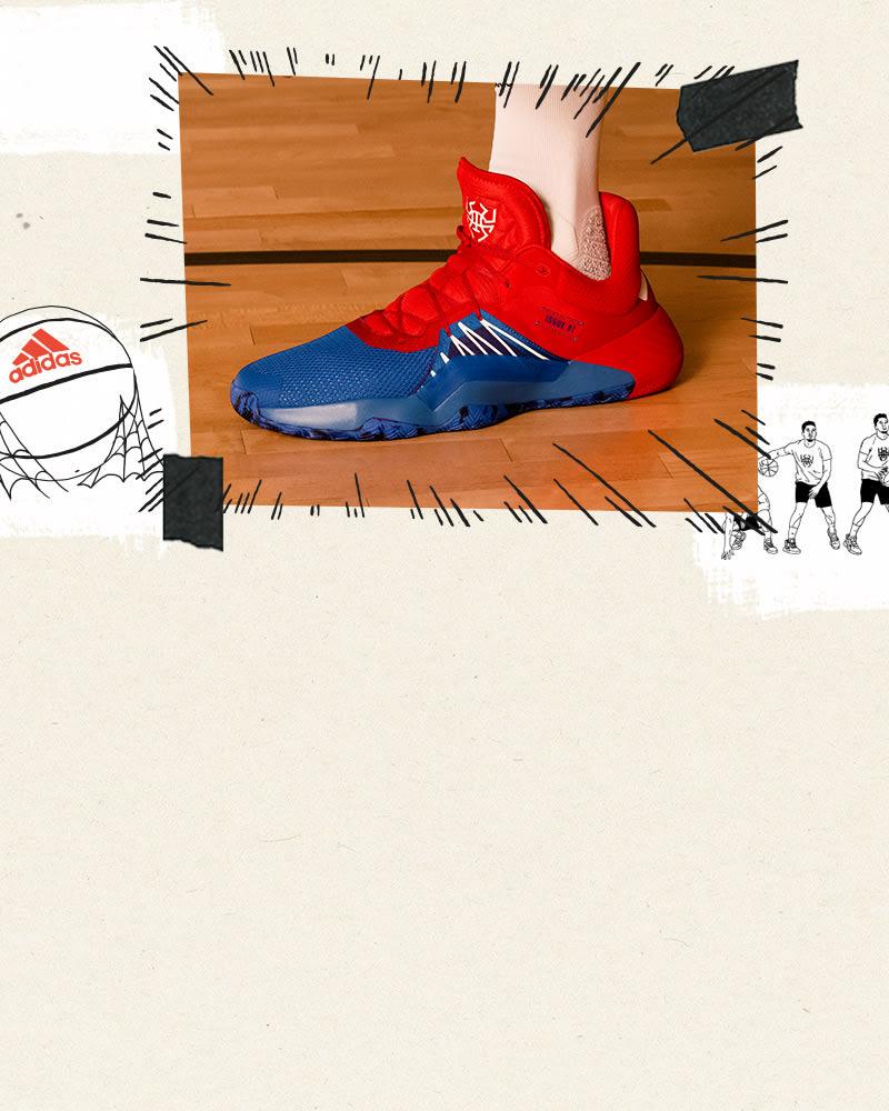 3551cb3eb52e5 Basketbalové tenisky, oblečenie a doplnky | Basketbalová kolekcia adidas