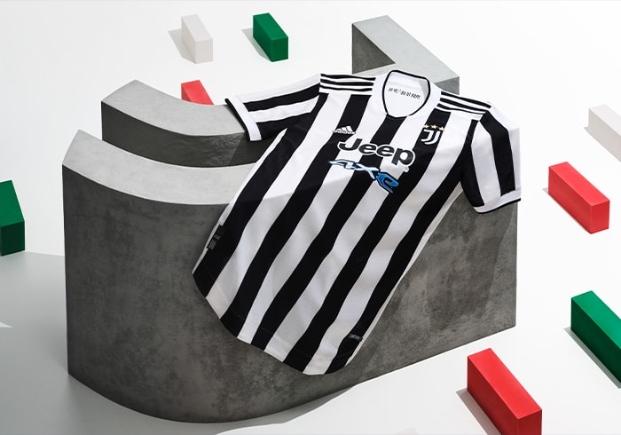 Visual featuring Juventus Home Jersey