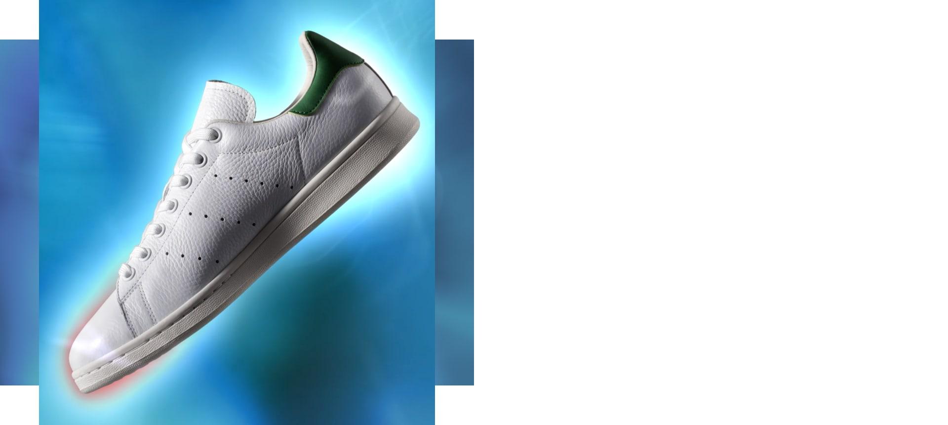 Unisex: Adidas Originals Skor Unisex Guld Vit Finaste,Online