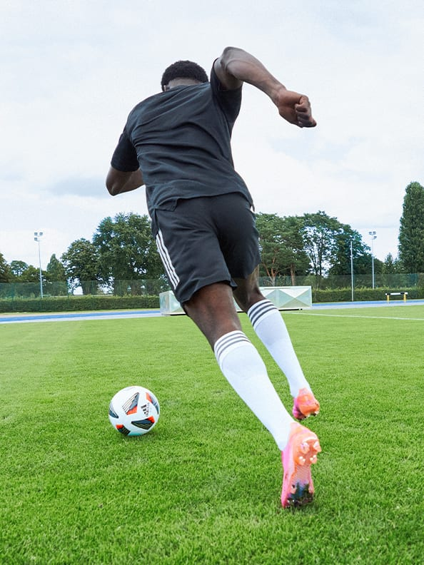 Action image featuring the X Boots.